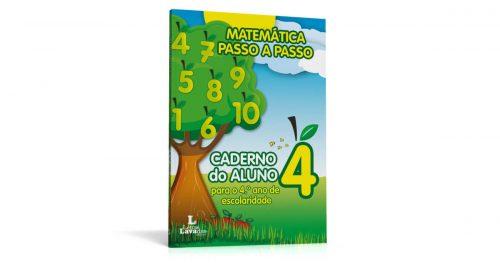 Matemática Passo a Passo - Caderno do Aluno para o 4º ano de escolaridade