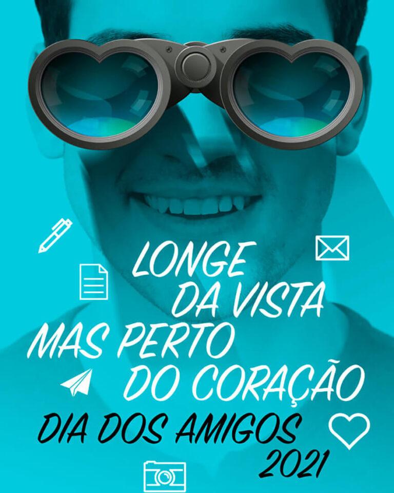 Read more about the article Longe da vista, mas perto do coração – Dia dos Amigos e das Amigas